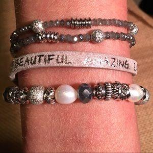 Jewelry - Good Works Bracelet- Beautiful Amazing